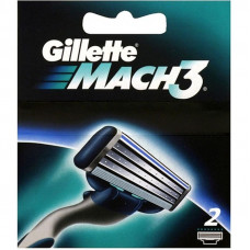 Gillette Mach3 (2 – сменные кассеты)