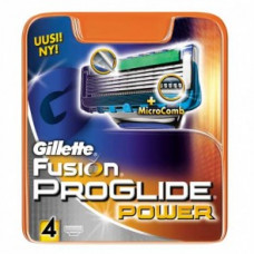 Gillette Fusion ProGlide Power (4 – сменные кассеты)