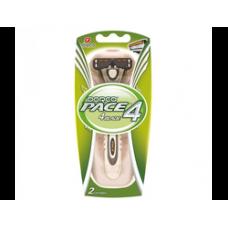 DORCO PACE4 (станок +2'S), система с четырьмя лезвиями