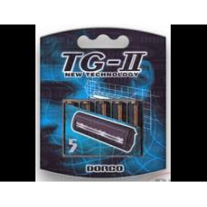 DORCO TG-II 5'S, сменные кассеты с двумя лезвиями без увл. полосы
