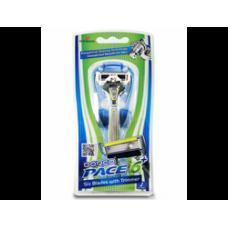 DORCO PACE6 Plus (станок +1'S), система с шестью лезвиями и триммером