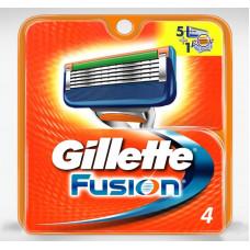 Gillette FUSION (4 – сменные кассеты)