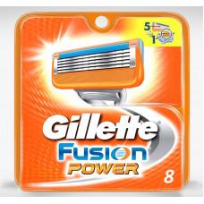 Gillette FUSION Power (8 – сменных кассет)