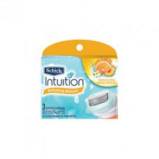 Лезвия Schick Intuition натур. (3 картриджа) Жен.